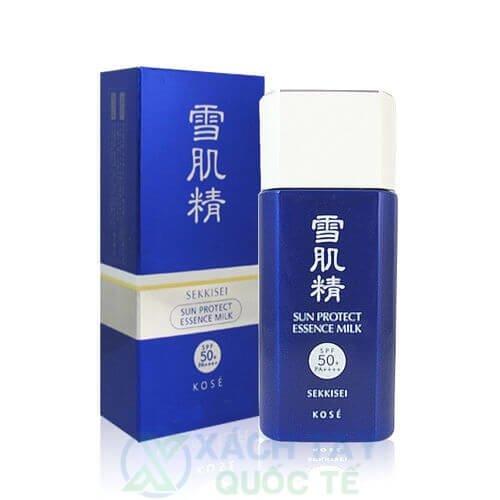 Kem chống nắng SEKKISEI Sun Protect Essence Milk N