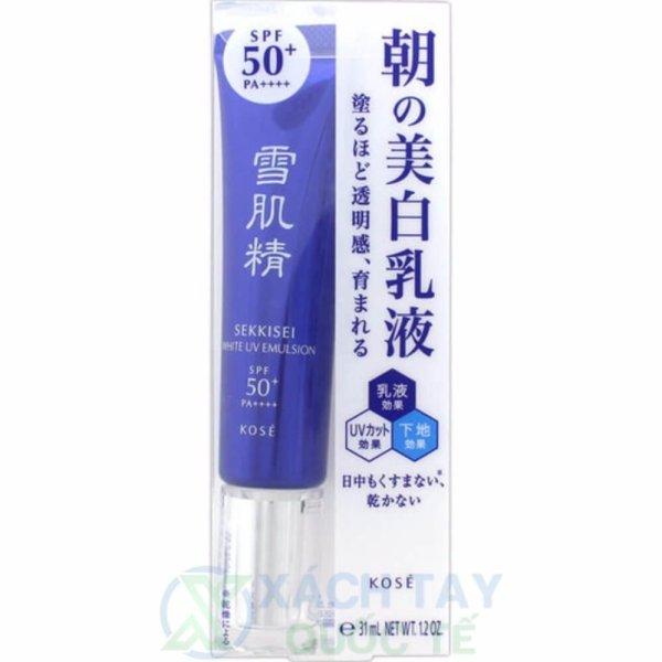 Nhũ tương dưỡng ngày SEKKISEI White UV Emulsion 35g