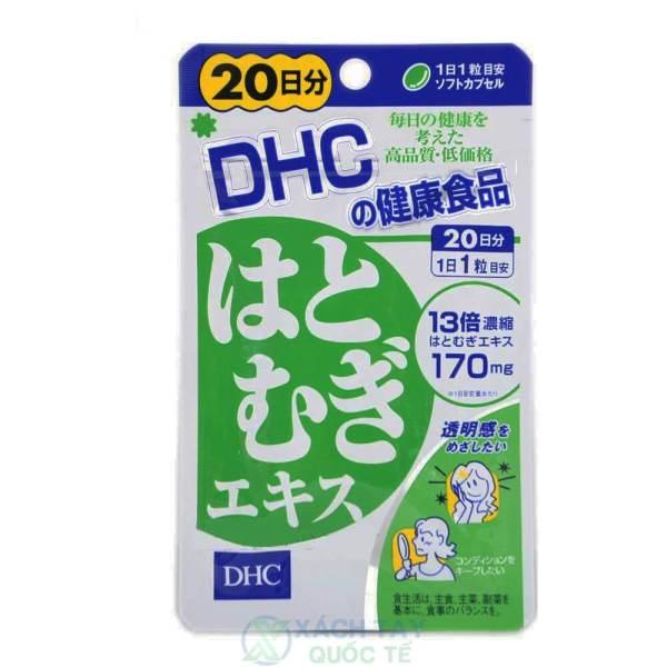 Viên Uống Trắng Da Coix Extract DHC Nhật Bản