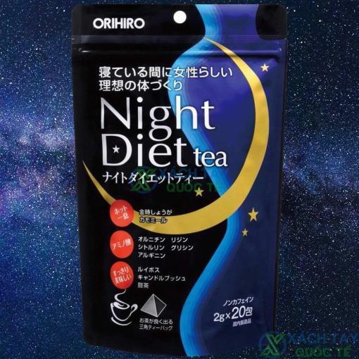 Trà giảm cân Orihiro Night Diet Tea Japna