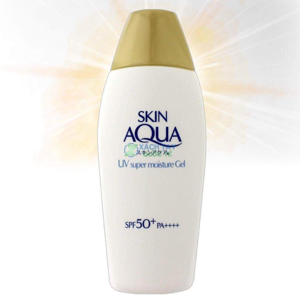 Kem Chống Nắng Rohto Skin Aqua UV Super Moisture Nhật Bản xách tay