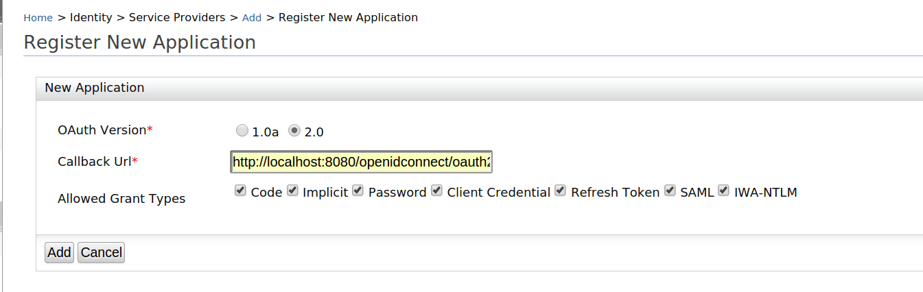 OpenId Connect support with resource owner password grant