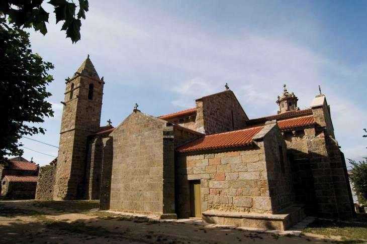 Santa María das Areas, iglesia de - Xacopedia
