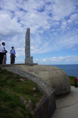 Monumento em Point du Hoc