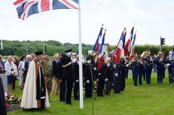 Cerimônia com veteranos