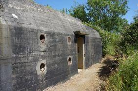 Fortificação alemã na Normandia