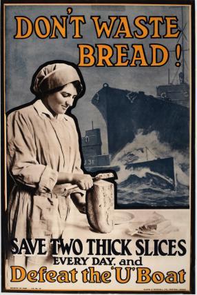 """""""Não desperdice pão!"""""""