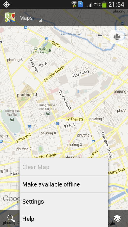 Android-Google-Maps-offline