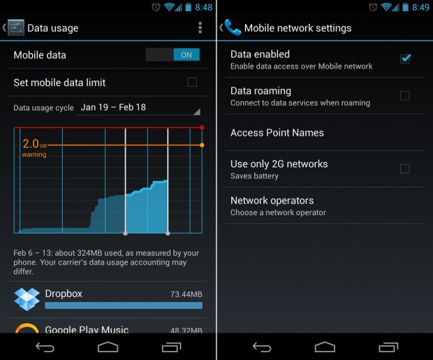 mobile-data-android