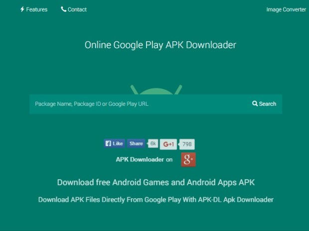 Use-an-.apk-downloader-website