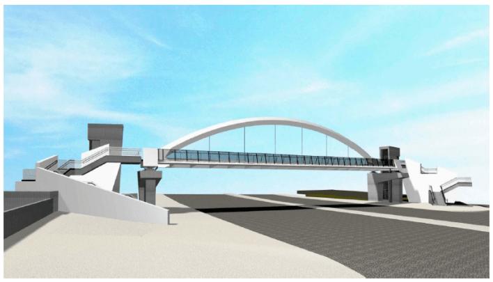 Χαϊδάρι: Τελετή Θεμελίωσης Πεζογέφυρας στη Λεωφόρο Αθηνών