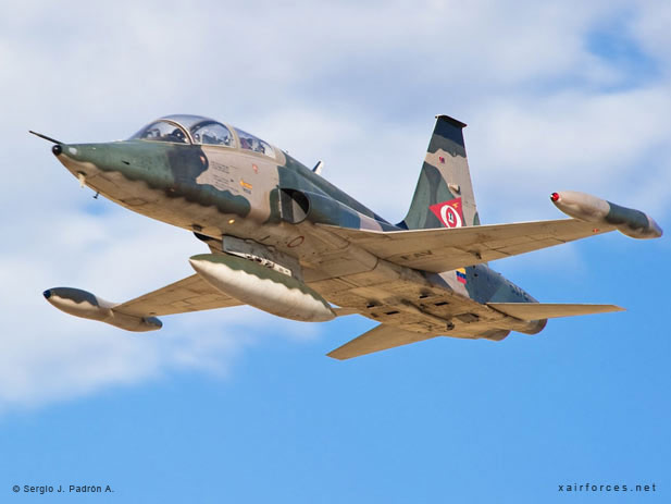 Canadair (Northrop) VF-5B Freedom Fighter