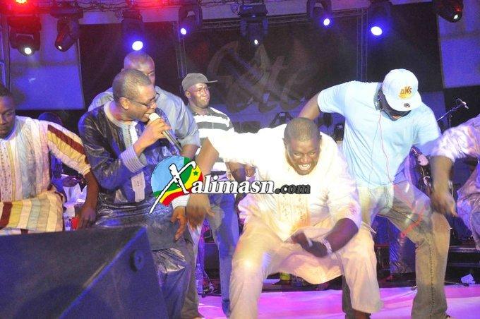 youssou et balla gaye 2 en action au cices