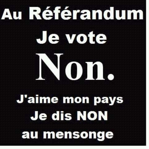 NON au référendum  (épisode 1) Non