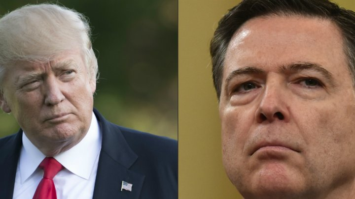 ACTUALITESINTERNATIONALTémoignage accablant de l'ancien chef du FBI James Comey contre Donald Trump 8 juin 20170