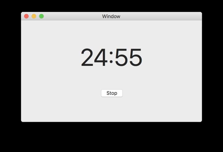 macOS первое приложение