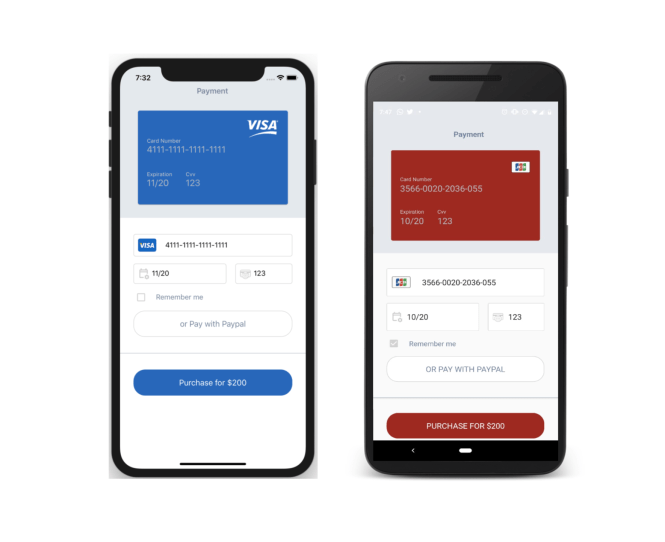Credit Card Payment UI in Xamarin Forms - XamGirl