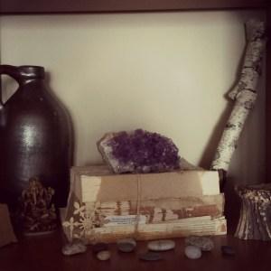 amethyst altar