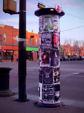 I was fascinated by these posts everywhere displaying events and shows...
