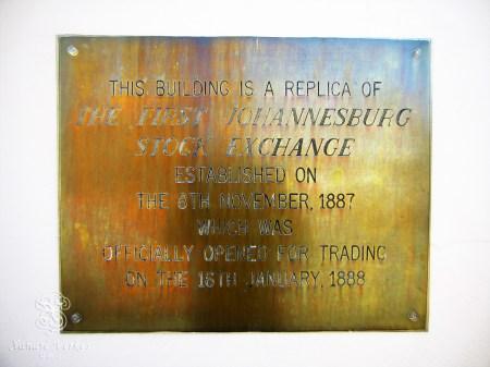Establishment of the JSE...