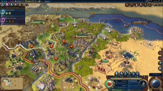 Civilization VI | Surrounded by Spain