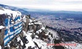"""Κι όμως είναι η πόλη μας """"παγωμένη"""" από ψηλά. Μια ακόμη φανταστική φωτογραφία αυτήν την φορά από τον Γιώργο Γκιώργκη"""
