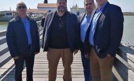 Στην Ξάνθη ο Φαήλος Κρανιδιώτης ο αρχηγός της Νέας Δεξιάς (Επισκέφθηκε το μετόχι της Μονής Βατοπεδίου στο Πόρτο Λάγος)