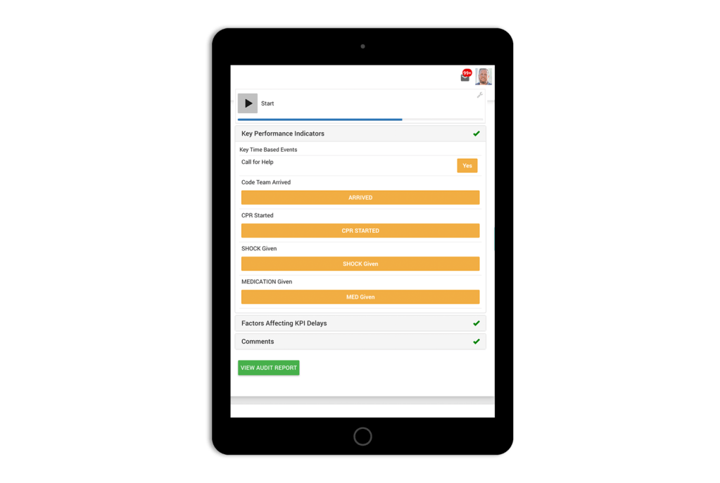 Mock-Code-Blue-Checklist-App
