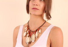 Ticuna Indigenous Shell Necklace