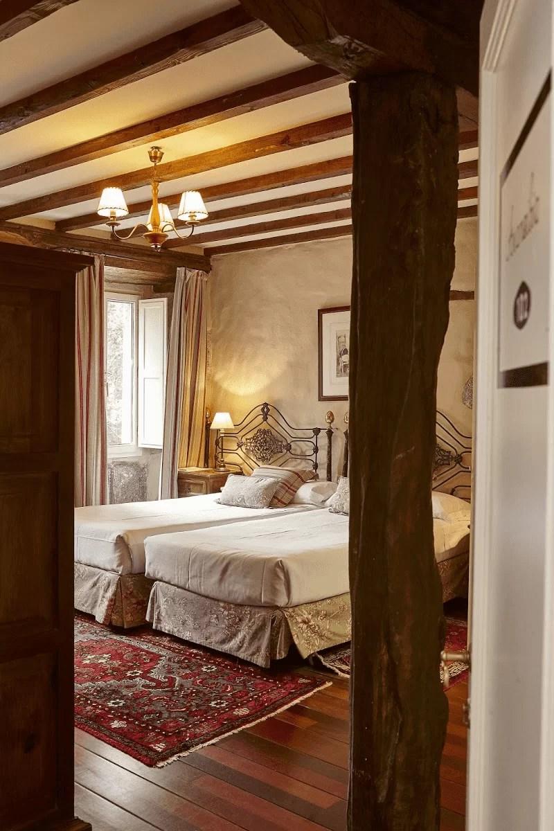 Xarma, alojamientos con encanto - Hotel Zubieta, habitación doble