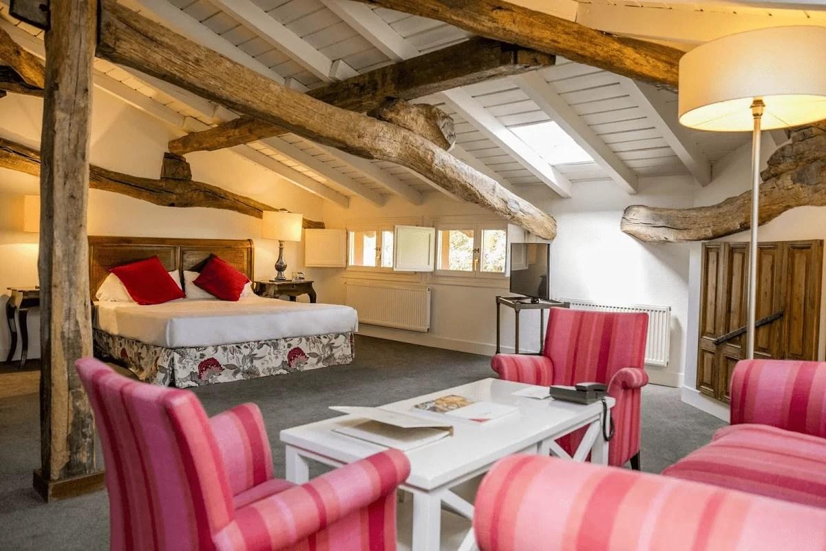 Xarma, alojamientos con encanto - Hotel Zubieta, habitación doble de luxe
