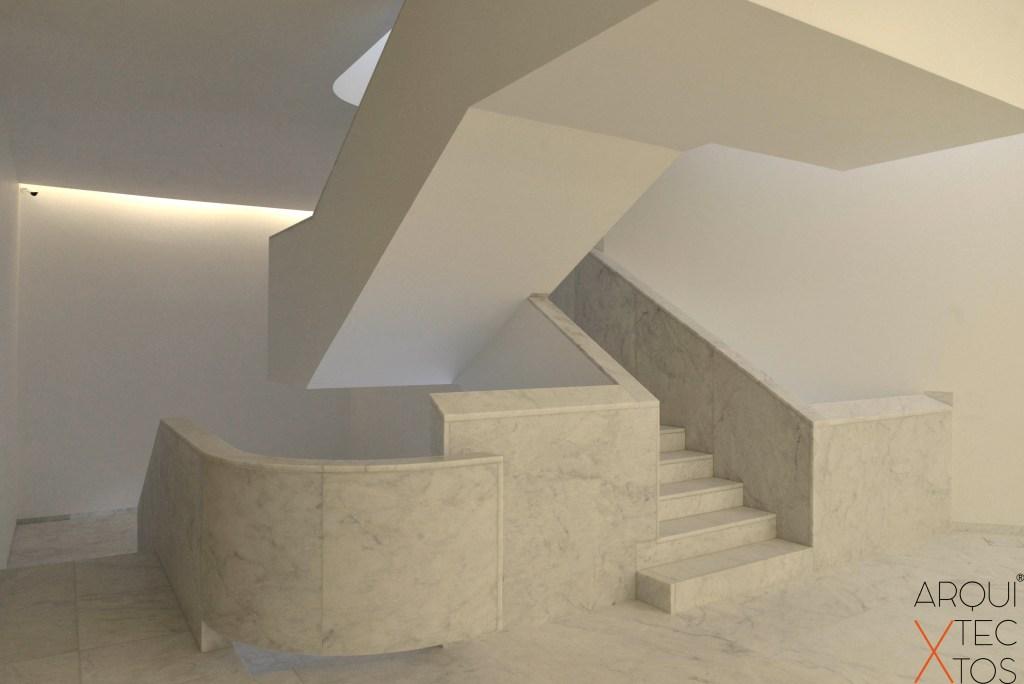 Escalera Santo Tirso Siza