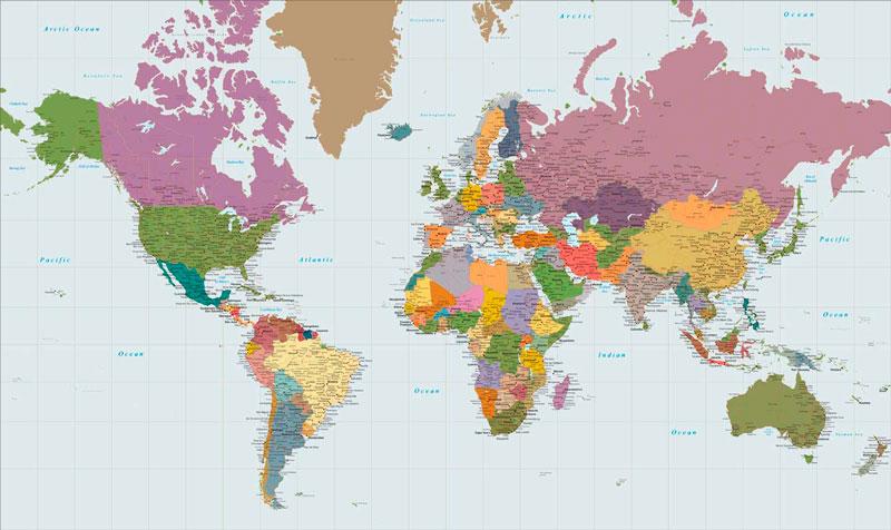 προβολή Mercator