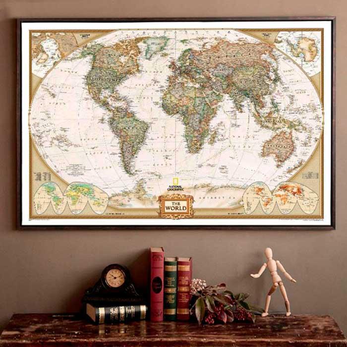 Διακόσμηση με χάρτες