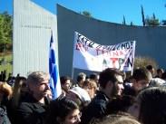 2012/12/13: Απο την εκδηλωση μνημης για τα 69 χρονια απο το Ολοκαυτωμα των Καλαβρυτων