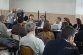 2013/03/27: ΠΚΦ - Στιγμιότυπο από την ομιλία του Β. Χατζηλάμπρου στο σεμινάριο «Η ευθύνη της Ευρώπης για τη μορφή ανάπτυξης στις χώρες της Μεσογείου»