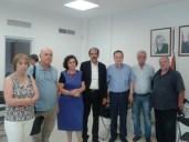 2014/07/28: Απο την επισκεψη κλιμακιου της ΚΟ και στελεχων του ΣΥΡΙΖΑ στην πρεσβεια της Παλαιστινης