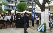 2014/10/03: Στην εκδηλωση μνημης για τα 70 χρονια απο την απελευθερωση της Πατρας απο τις γερμανικες δυναμεις κατοχης