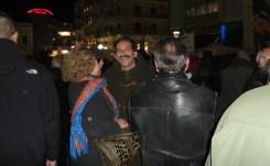 """2015/02/11: Ο Β. Χατζηλαμπρου στη συγκεντρωση στηριξης της κυβερνησης """"Ανασα αξιοπρεπειας"""" στην Πατρα"""