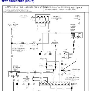 Light Wiring Diagrams 1996 International 4700 Light