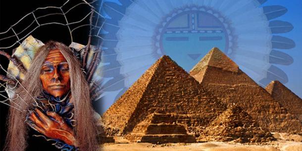 La sorprendente conexión entre las pirámides egipcias y el mito de la creación de los indios Hopi | Ancient Origins España y Latinoamérica