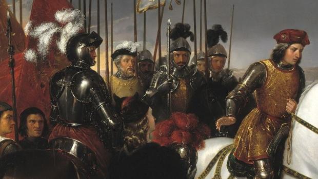 Gonzalo Pizarro fue uno de los capitanes que asistieron al Gran Capitán en la batalla de Ceriñola - Museo del Prado