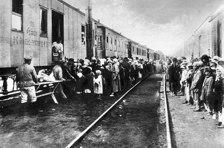 Los niños esclavos del Gulag