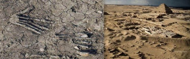 "Egipto: Pozos misteriosos de 3600 años están llenos de manos ""gigantes"""