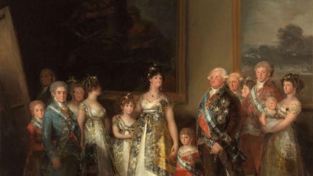 La familia de Carlos IV.Francisco de Goya