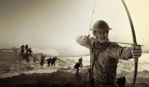 El oficial británico «loco» que mataba nazis con una espada y una arco durante la Segunda Guerra Mundial