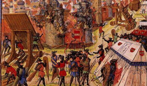 El canibalismo de la Primera Cruzada: los latinos se comieron las nalgas de los sarracenos