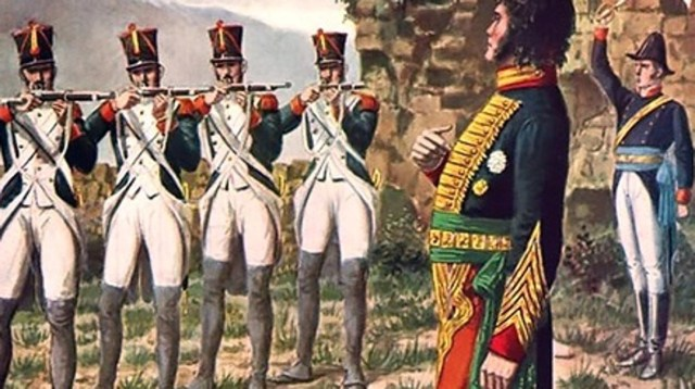 Fusilamiento de Murat en 1815 - Vídeo: 210 años desde que el pueblo español se levantó contra Napoleón
