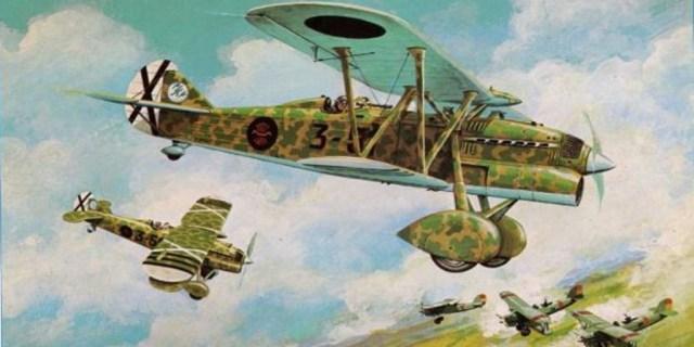 El Chirri, uno de los aviones más destacados de la Guerra Civil
