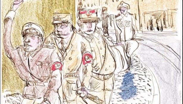 Dibujo de Hans Horn - ABC